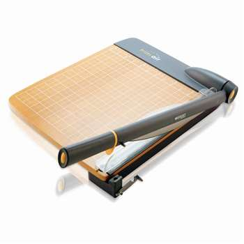 Shop Westcott Trimair Titanium Wood 12In Guillotine Paper Trimmer Mircroban - Acm15106 By Acme United