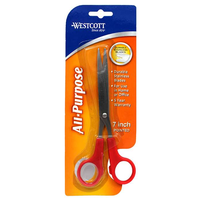 "Teachers Shears 7"" Pointed By Acme United"