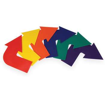 Curved Arrow Markers Set Of 6, AEPYTB086