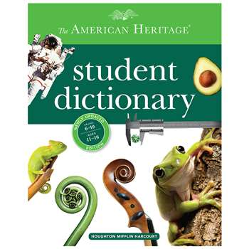 The American Heritage Student Dictionary, AH-9780544336087