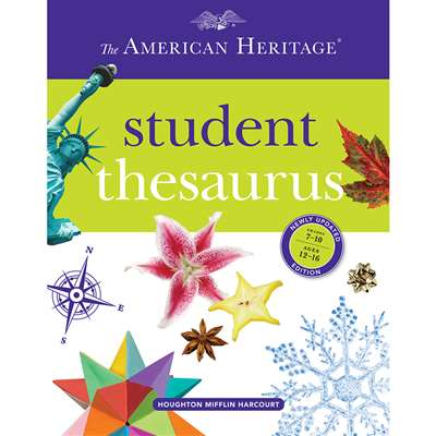 American Heritage Student Thesaurus By Houghton Mifflin
