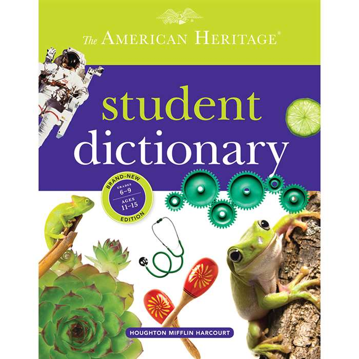 The American Heritage Student Dictionary By Houghton Mifflin