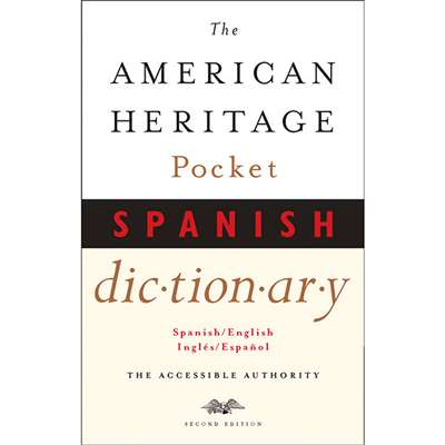 American Heritage Pocket Spanish Dictionary By Houghton Mifflin