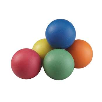 "Rainbow Sponge Ball Set 25"" 6/St, AHLP256"