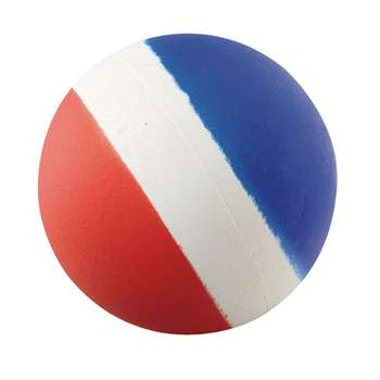 "Tri-Coloured 3"" Sponge Ball, AHLP33"