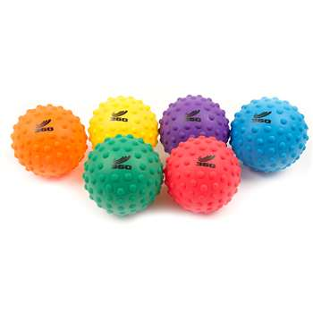 "Sensory Ball Set 5"" Set Of 6, AHLPSEN3S"