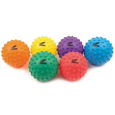 "Sensory Ball Set 8"" Set Of 6, AHLPSEN8S"