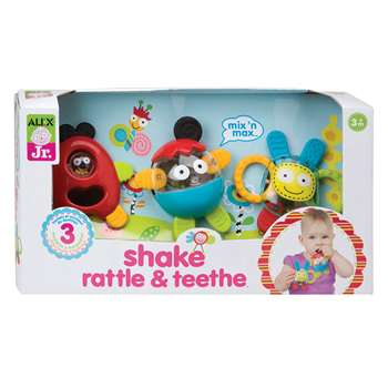 Shake Rattle & Teethe By Alex By Panline Usa
