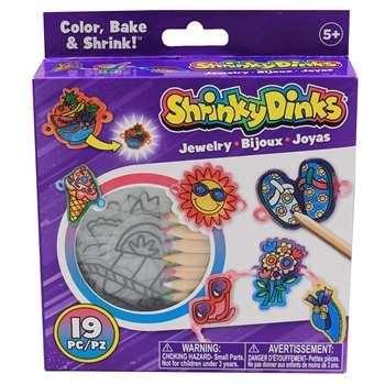 Shrinky Dinks Good Time Jewelry By Alex By Panline Usa
