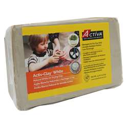 Activ Clay White 3.3 Lbs By Activa