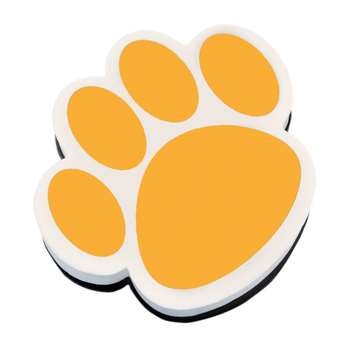 Magnetic Whiteboard Eraser Gold Paw By Ashley Productions