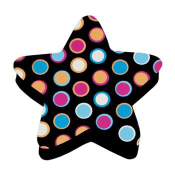 Magnetic Whiteboard Star Dots Erasers By Ashley Productions