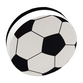 Magnetic Whiteboard Erasers Soccer By Ashley Productions