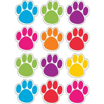 Die-Cut Magnets Colorful Paws, ASH10057