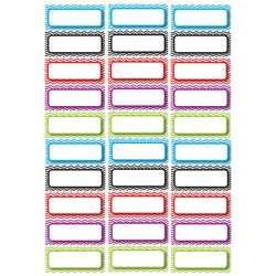 Die Cut Magnets Assorted Color Chevron Nameplates, ASH10077