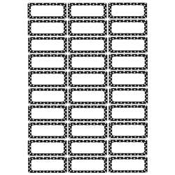 Die Cut Magnets B/W Dots, ASH10080