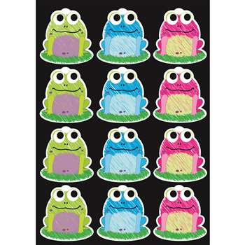 Die-Cut Magnet Scribble Frogs, ASH10087