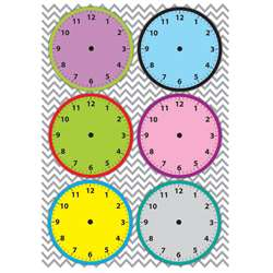 Magnetic Time Organizers Clockfaces, ASH10090