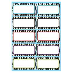 Die Cut Magnets Zebra Nameplates By Ashley Productions
