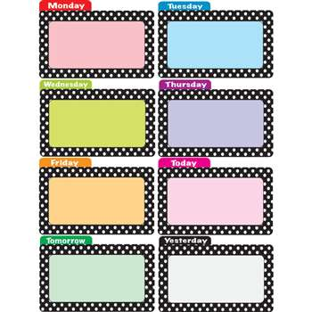 Die Cut Magnets Dots File Days Of The Week By Ashley Productions