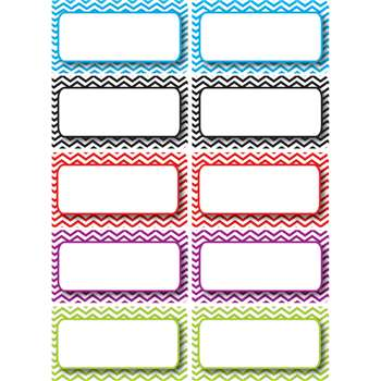 Shop Die Cut Magnets Color Chevron Name Plates - Ash10133 By Ashley Productions