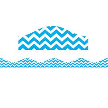 Shop Magnetic Border Blue Chevron - Ash10197 By Ashley Productions