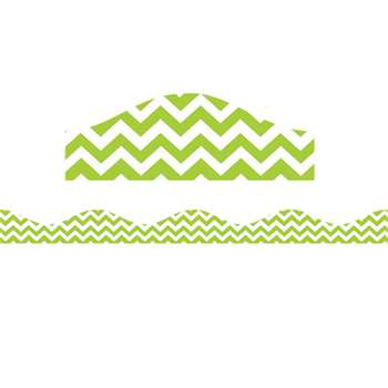 Shop Magnetic Border Lime Green Chevron - Ash10199 By Ashley Productions
