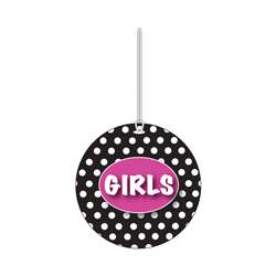 B W Dots Girls Hall Pass By Ashley Productions