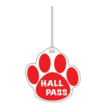 Red Paw Hall Pass 4 X 4 By Ashley Productions