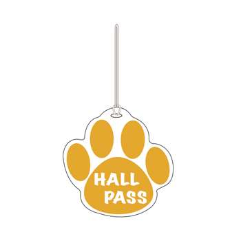 Gold Paw Hall Pass 4 X 4 By Ashley Productions