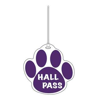 Purple Paw Hall Pass 4 X 4 By Ashley Productions