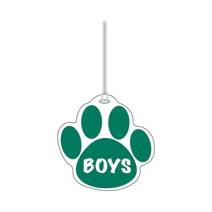 Green Paw Hall Pass Boys 4 X 4 By Ashley Productions