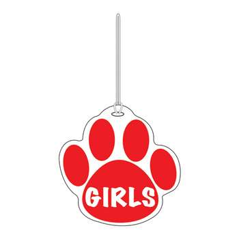 Red Paw Hall Pass Girls 4 X 4 By Ashley Productions