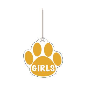 Gold Paw Hall Pass Girls 4 X 4 By Ashley Productions