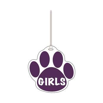 Purple Paw Hall Pass Girls 4 X 4 By Ashley Productions