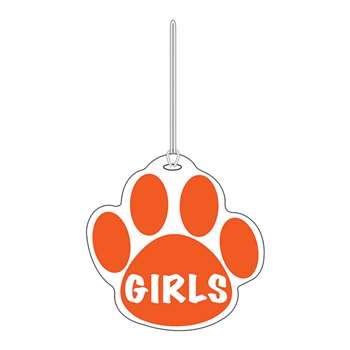 Orange Paw Hall Pass Girls 4 X 4 By Ashley Productions
