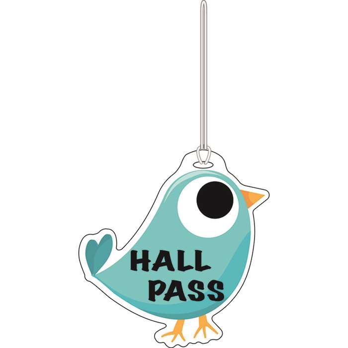 Blue Tweet Hall Pass By Ashley Productions