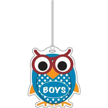 Colorful Owl Boys Hall Pass By Ashley Productions
