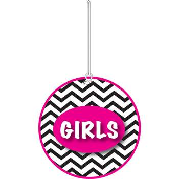 Shop Chevron Girls Hall Pass - Ash10443 By Ashley Productions