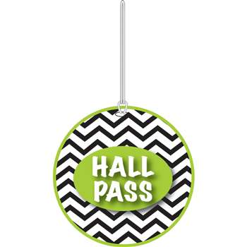Shop Chevron Hall Pass - Ash10444 By Ashley Productions