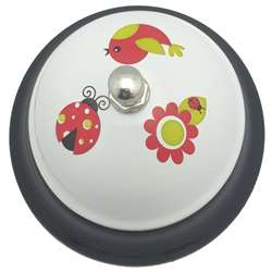 Decorative Call Bell Ladybug Friend, ASH10515