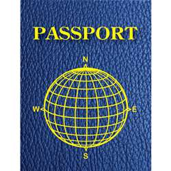 Blank Passports Pack Of 12 By Ashley Productions
