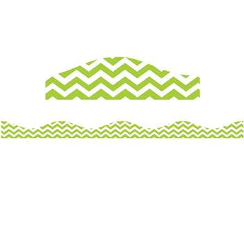 Big Magnetic Border Lime Chevron, ASH11116