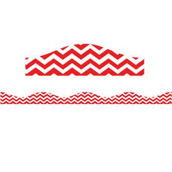 Big Magnetic Border Red Chevron, ASH11119