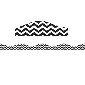 Big Magnetic Border Black Chevron, ASH11121