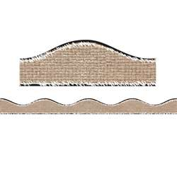 Big Magnetic Border Burlap Scribble, ASH11126