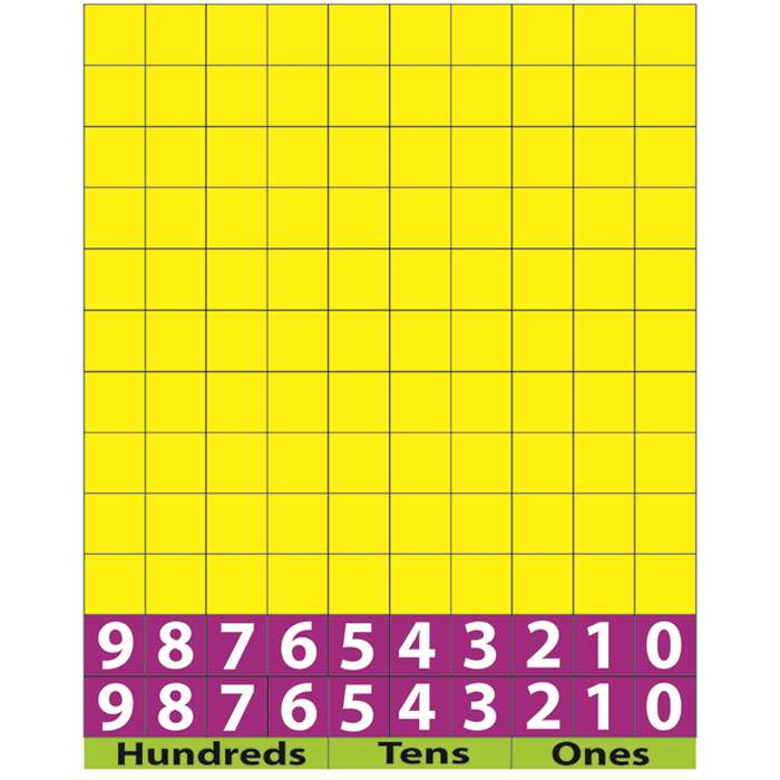 Math Die Cut Magnets Base Ten, ASH11303