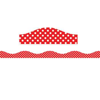 Magnetic Border Red & White Dots, ASH11402