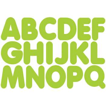 "Lime 1-3/4"" Magnetic Letters, ASH17503"