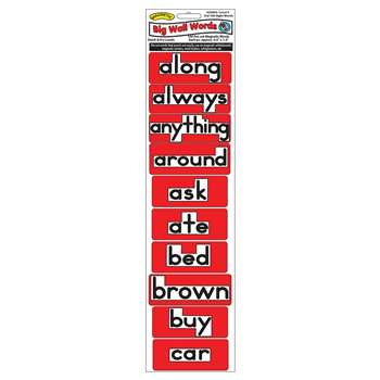 Magnetic Big Wall Words 3Rd 100 Words Level 3, ASH25003